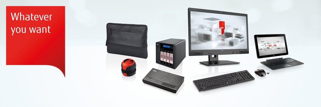 Ponudba računalnikov, prenosnikov, monitorjev Fujitsu